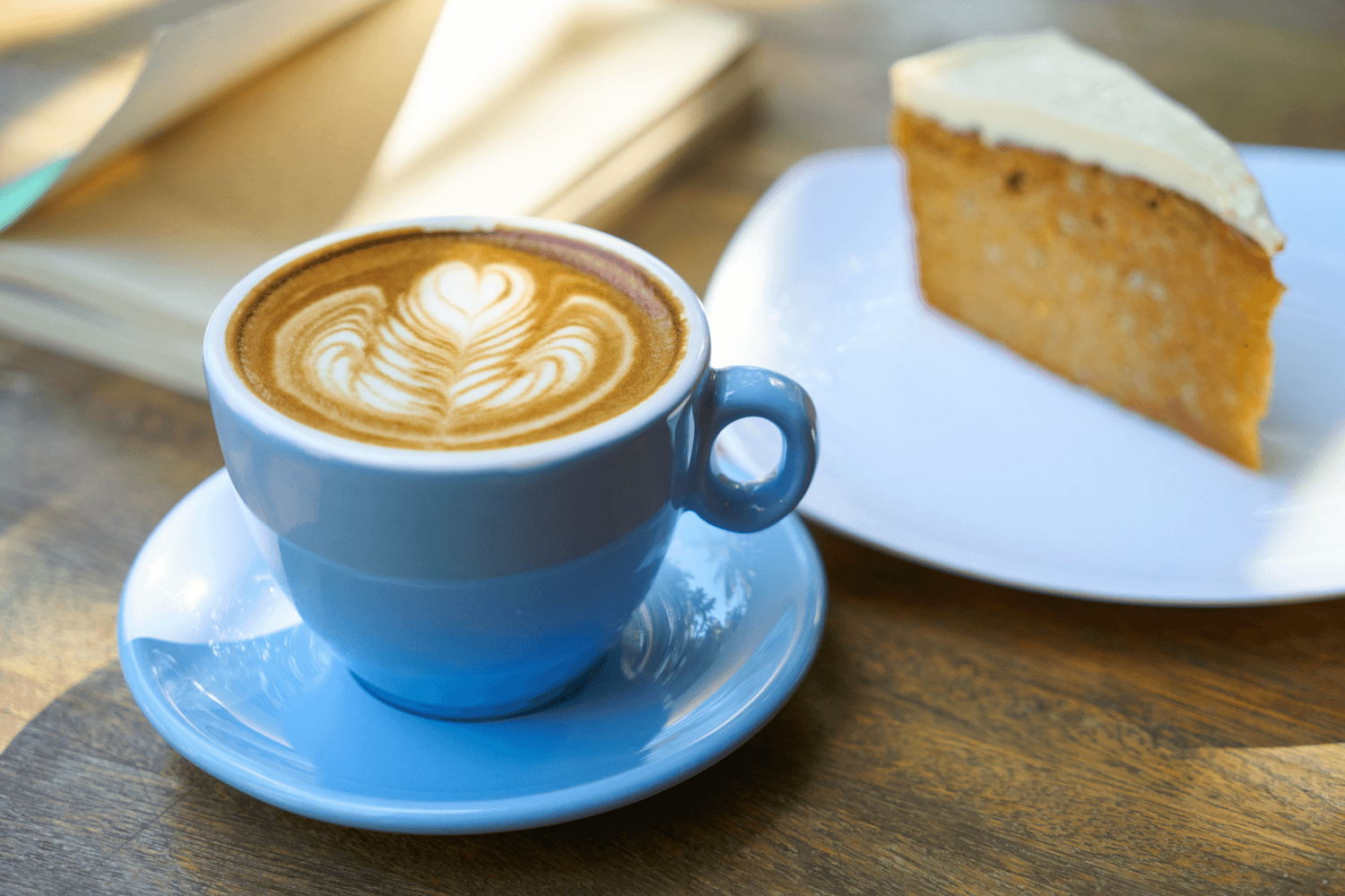 Coffee and Cake Picture
